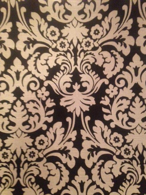 Waverly Damask Linen Custom Shower Curtain