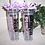 Personalized Bridesmaid Tumbler with Straw, Bridal Party Tumblers