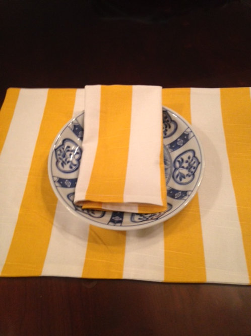 Custom Table Linens Cornflower Yellow
