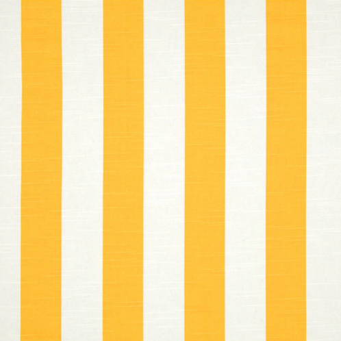 Gold White Stripe Custom Shower Curtain Canopy Stripe