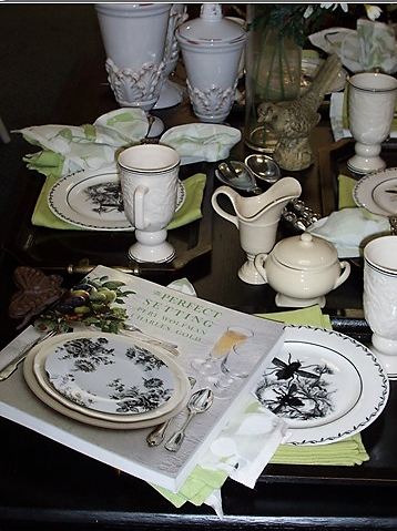 Custom placemats and napkins