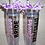 Personalized Acrylic Tumbler with Straw
