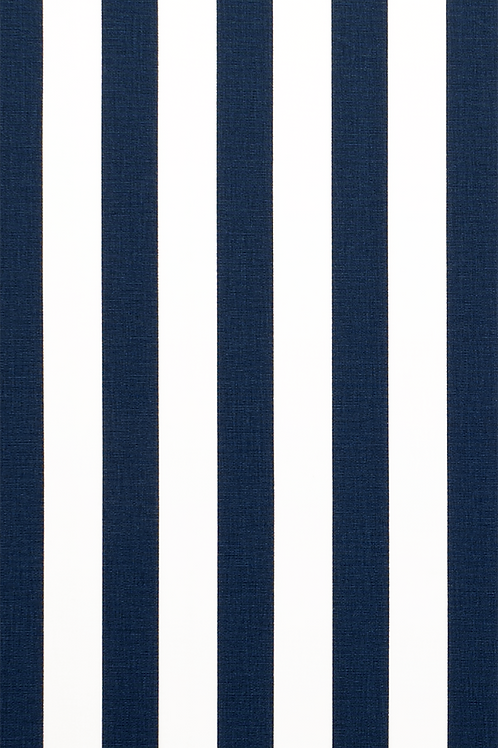 Navy Blue & White Canopy Stripe Tablecloths