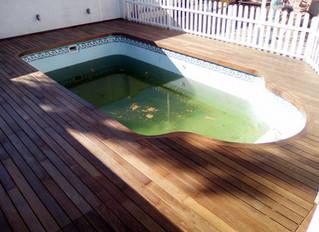 Tarima de madera exterior - Carpintería Bonilla