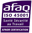 CERTIFICATION AFAQ ISO 45001