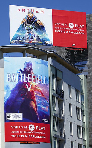 EA Play typography