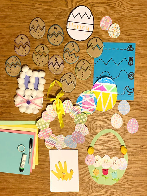 Easter Craft & Activity Pack for 2 children