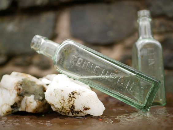 Edinburgh Glass Bottles 1