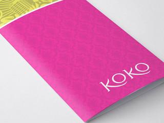 Koko Drinks Menu