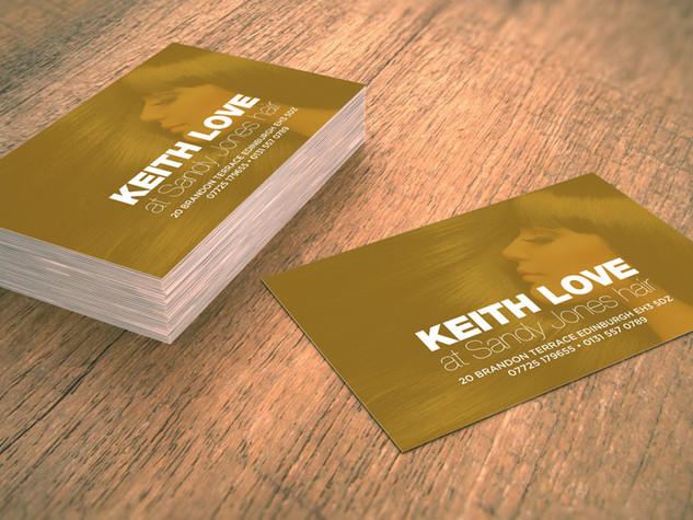 Keith Love Business Card