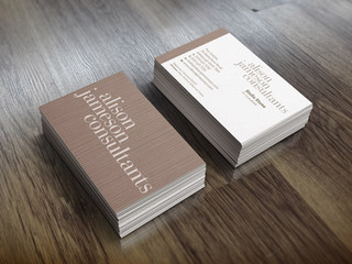 Alison Jameson Business Card