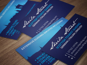 Sheila Stuart Business Card