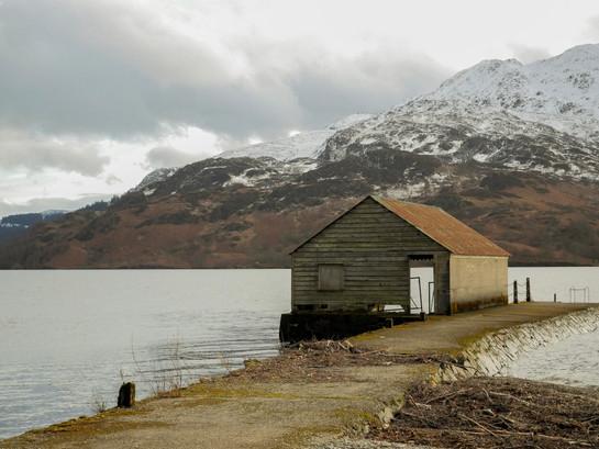 Loch Katrine Boathouse