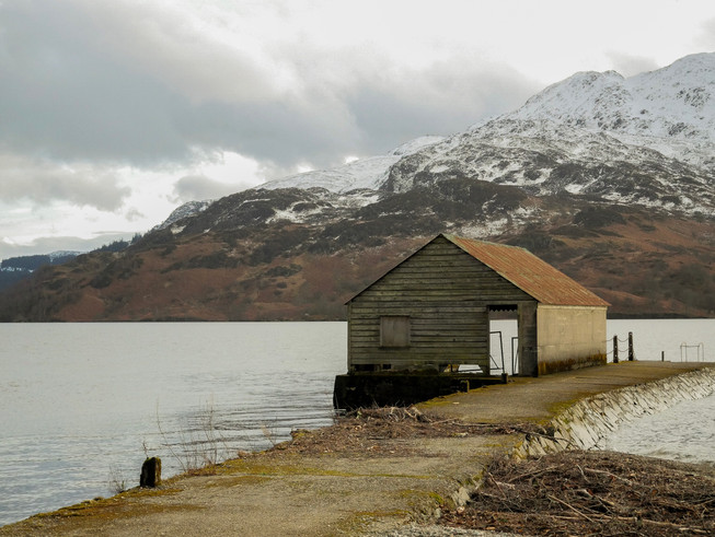 Loch Katrine Boathouse
