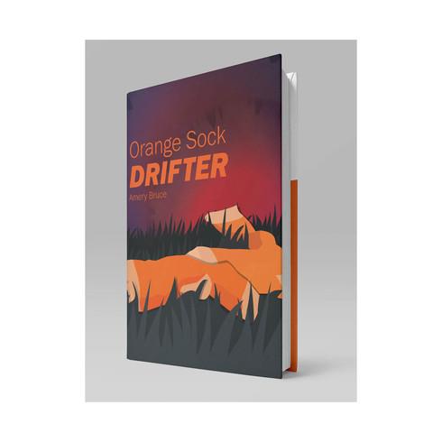 Orange Sock Drifter- Mockup