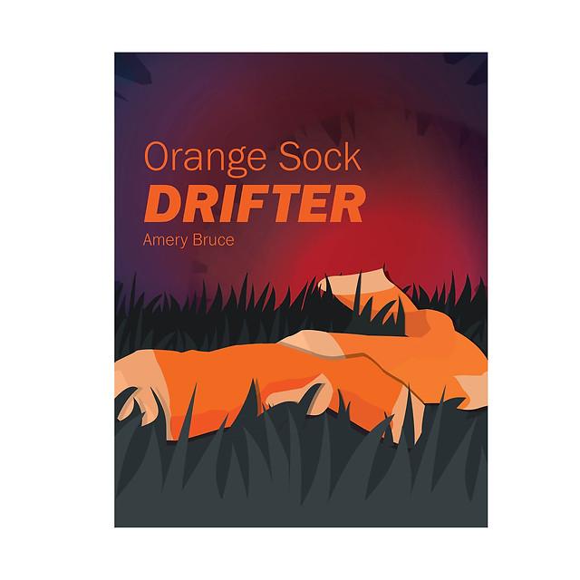 Orange Sock Drifter - Illustrator