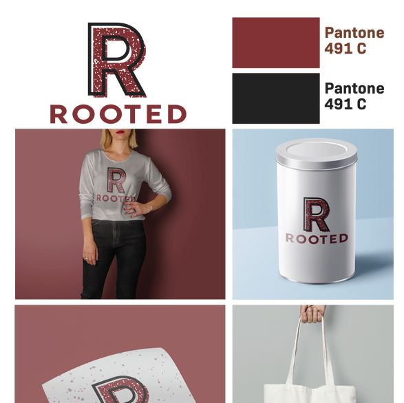 Rooted: Logo One Moodboard