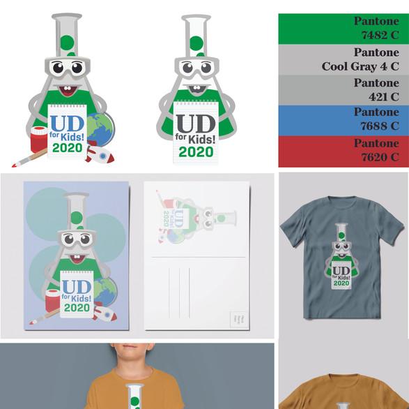 Illustrative Logo: UD for Kids Moodboard