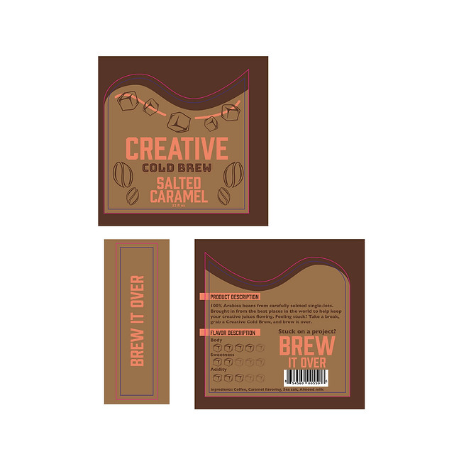 Creative Cold Brew - Labels