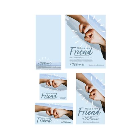 Make a Friend Day - Campaign