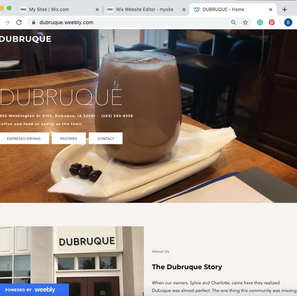 Dubruque Website
