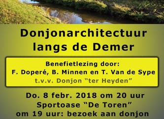 Benefietlezing t.v.v. Donjon Ter Heyden