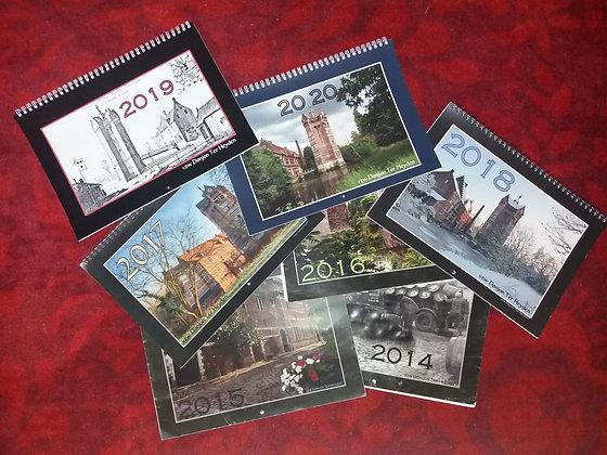 Sfeerkalender (vorige edities) - Calendrier (anciennes éditions)