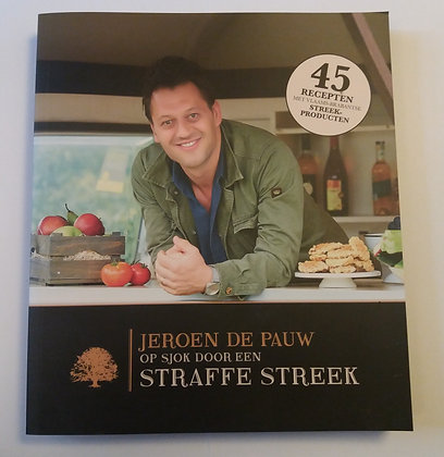 """Kookboek - Livre de Cuisine """"Op Sjok door een Straffe Streek"""" NL"""