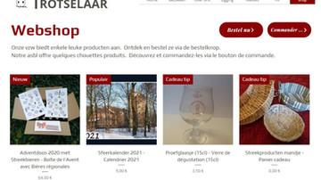 WEBSHOP online !