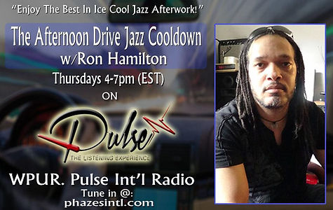 New Flyer for Aternoon Drive on PULSE 12