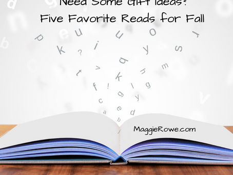Need Some Gift Ideas?  Five Favorite Reads for Fall