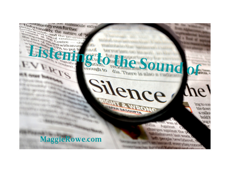 Listening to the Sound of SILENCE