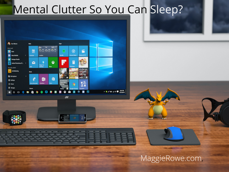 How Do You Banish Mental Clutter So You Can Sleep?