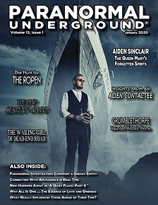 Paranormal Underground January 2020 Cove