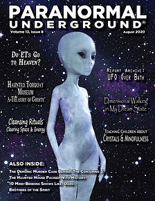 Paranormal Underground August 2020 Cover