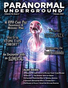 Paranormal Underground February 2021 Cov