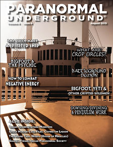 August 2015 Paranormal Underground Cover