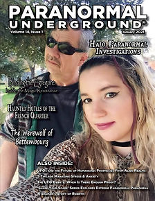 Paranormal Underground January 2021 Cove