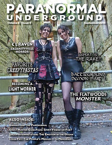 Paranormal Underground September 2015 Co