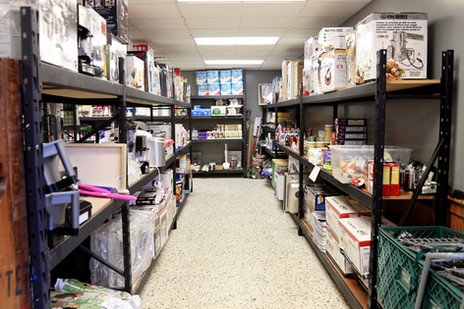 Our shelves are stocked with a variety of items at all times!