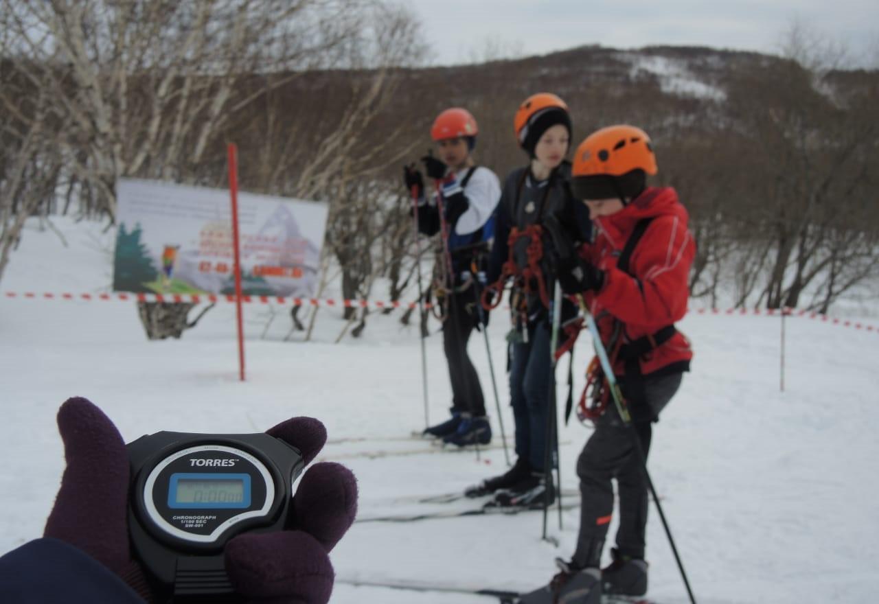 Зимние туристские старты