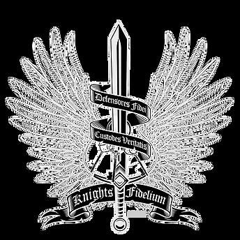 Knights Fidelium Logo White.png