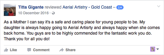 Aerial Kids Classes Gold Coast