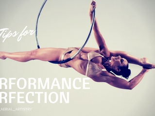 Top Tips for Performance Perfection…