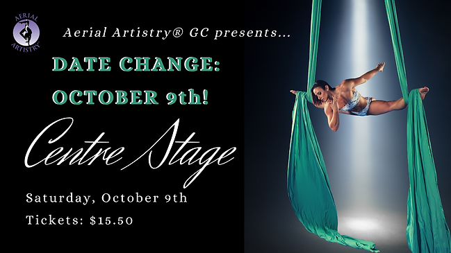 Aerial Artistry Centre Stage show