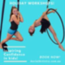 Kids Holiday Workshops - Gold Coast