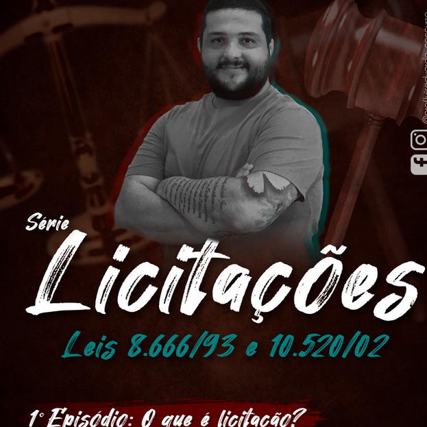 Prof. Luis - Série Licitações