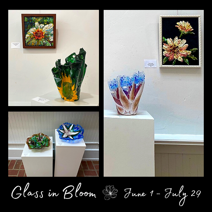 Elijah Kell Art Glass- Glass in Bloom