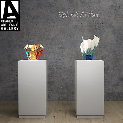 Elijah Kell Art Glass- Charlotte Art League Gallery