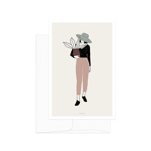 Card - Plant Lady